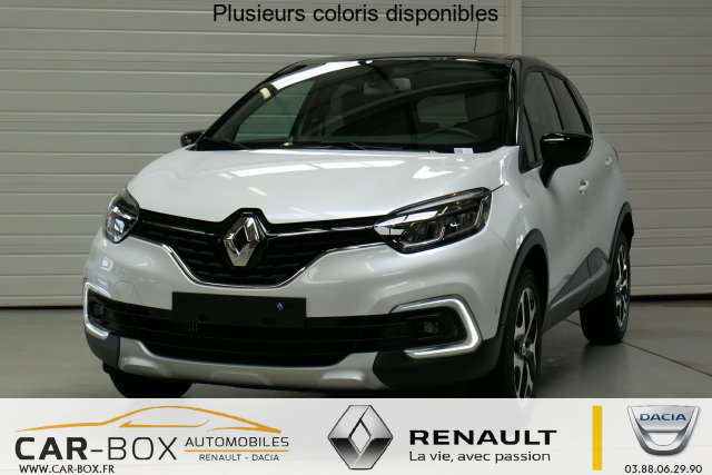 renault captur nouveau tce 120 energy intens carbox. Black Bedroom Furniture Sets. Home Design Ideas